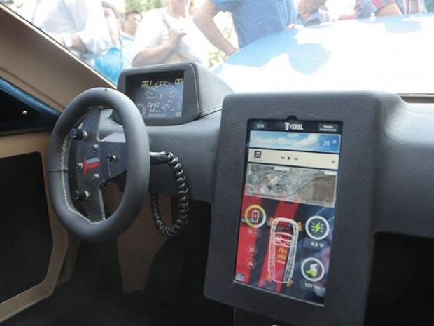 Yerli tasarım elektrikli otomobil T-1, Samsun'da tanıtıldı - Page 2