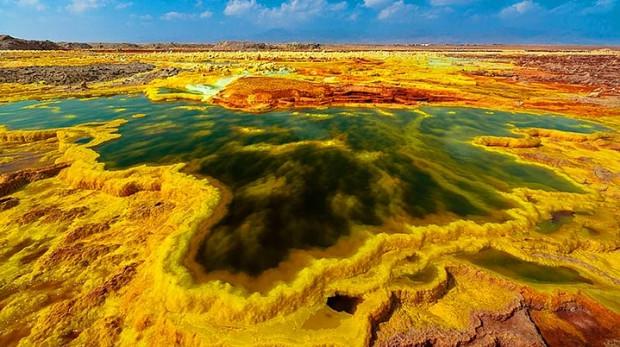 Yeryüzündeki Cehennem: 13 Çarpıcı Fotoğrafla Etiyopya'daki Danakil Çöküntüsü - Page 2
