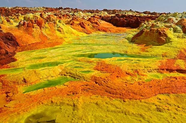 Yeryüzündeki Cehennem: 13 Çarpıcı Fotoğrafla Etiyopya'daki Danakil Çöküntüsü - Page 3
