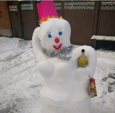 Yılın en çılgın kardan adamları - Page 3