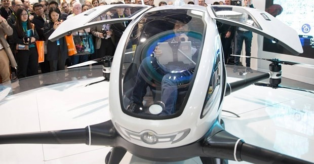 Yolcu taşıyabilen ilk Drone Ehang 184 - Page 1