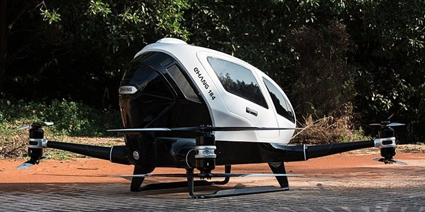Yolcu taşıyabilen ilk Drone Ehang 184 - Page 2