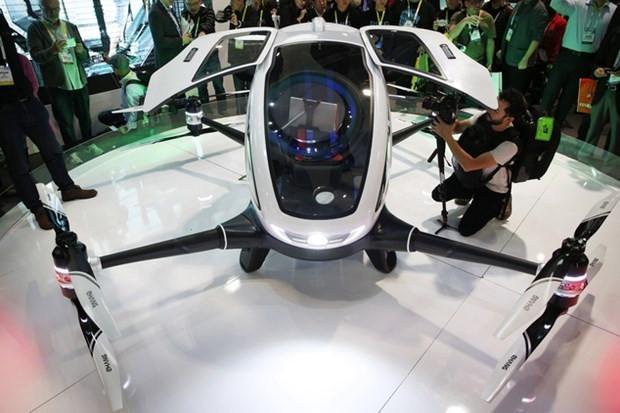 Yolcu taşıyabilen ilk Drone Ehang 184 - Page 4