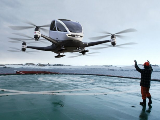 Yolcu taşıyan ilk drone yakında gökyüzünde olacak - Page 3