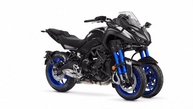 Yüksek performanslı, 3 tekerlekli canavar Yamaha Niken - Page 1