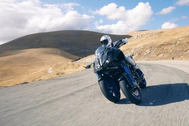Yüksek performanslı, 3 tekerlekli canavar Yamaha Niken - Page 4