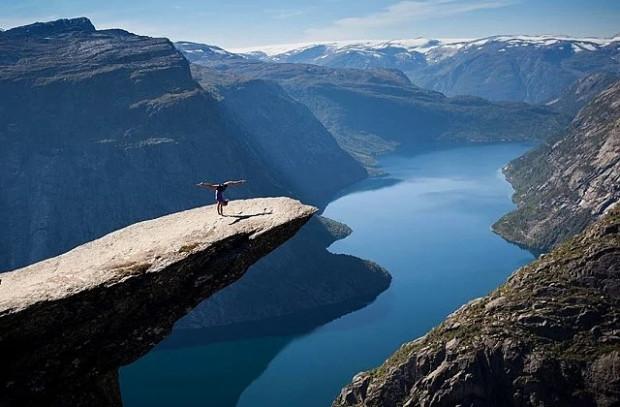 Yükseklik korkunuz olmasa bile korkudan dizlerinizi titretecek 21 fotoğraf - Page 1