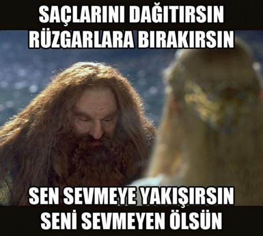 Yüzüklerin Efendisi'ne Türk eli değdi! - Page 1