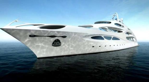 Zaha Hadid'in megayat tasarımı - Page 2