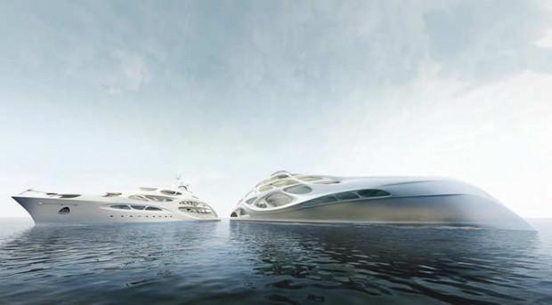 Zaha Hadid'in megayat tasarımı - Page 4