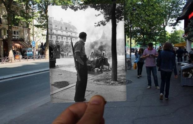 Zamanda yolculuk 16 Inception fotoğrafla Paris - Page 1