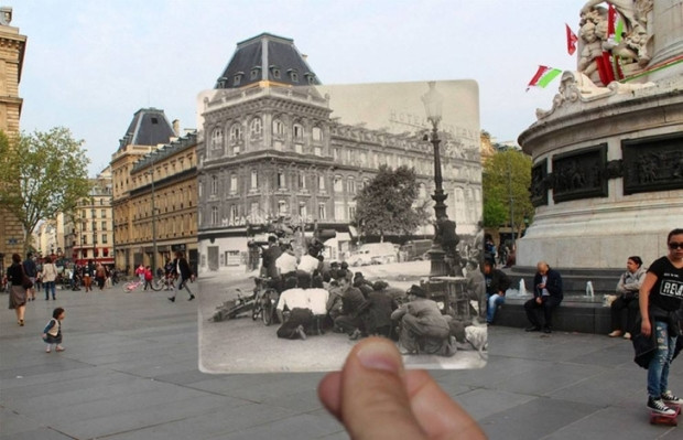 Zamanda yolculuk 16 Inception fotoğrafla Paris - Page 3