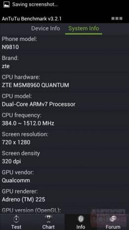 ZTE'den yeni telefon Quantum N8910 ve özellikleri - Page 1