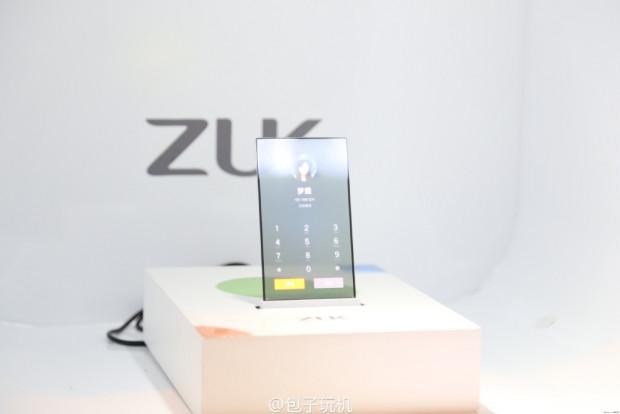 ZUK şeffaf ekran ile çalışan bir telefon prototipi tanıttı - Page 4