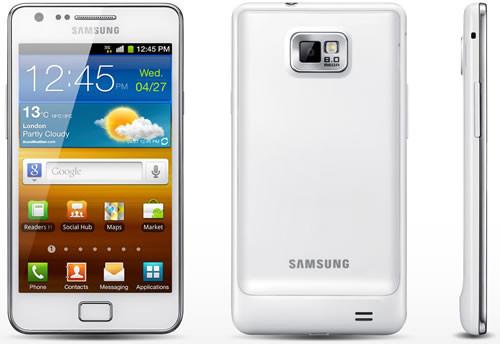 Samsung galaxy s ii beyaz türkiye ye geliyor