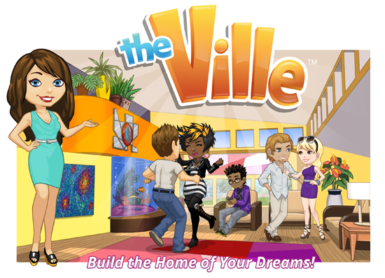 Te zynga 39 n n duyurdu u the ville oyunu video for Online games similar to sims