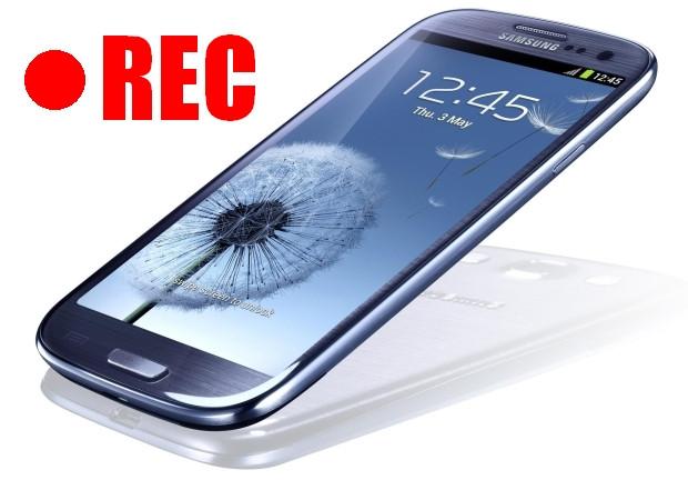 Galaxy S 2 Ve S 3 39 N Zde Telefon G R Melerinizi Kaydedin
