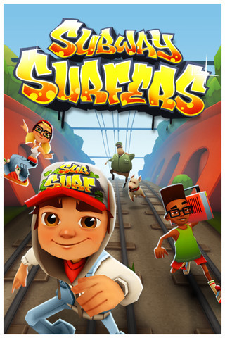 iPhone, iPad ve iPod için Subway Surfers macera oyunu!