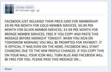 Sosyal ağ olan facebook üzerinde yayılan habere göre facebook