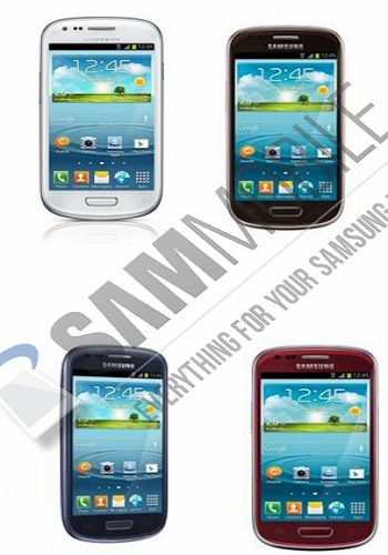 Samsung Galaxy S III mini spotted in 3 new colours.