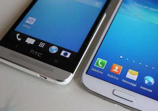 Samsung galaxy s4 ve htc one ın sayılarla karşılaştırması