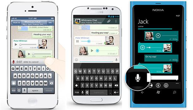 Whatsapp səsli danışma xüsusiyyəti