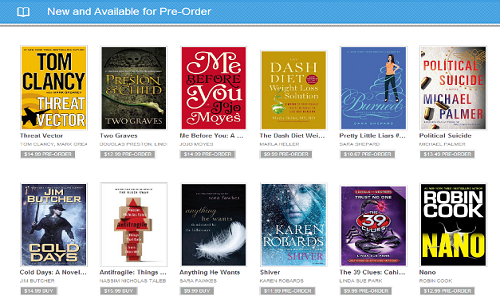 how to order free books at google play