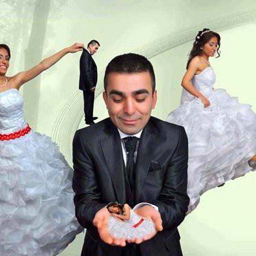 Internet üzerinde dolaşan bu düğün fotoğraflarını aşağıda