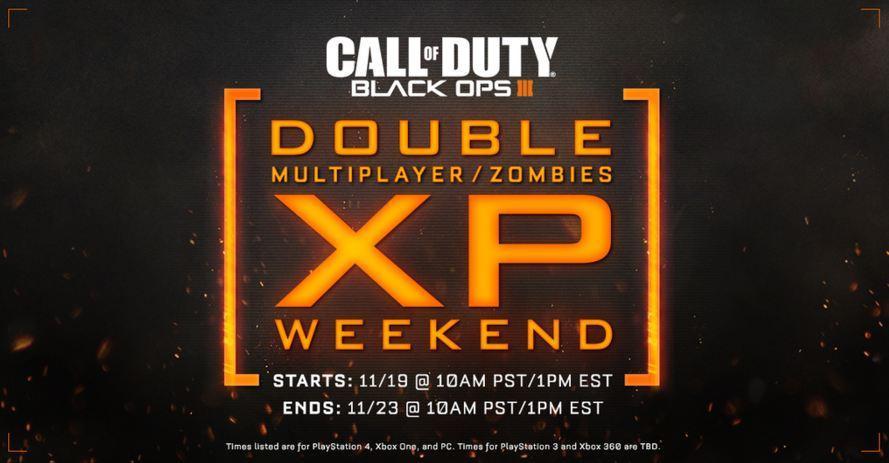 Call of Duty Black Ops 3 Double XP Günleri Başladı