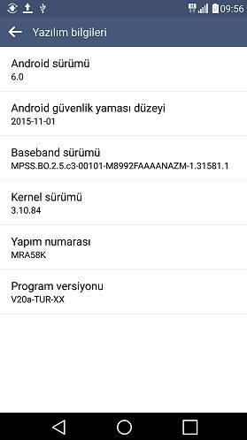 LG G4 için ülkemizde Android 6.0 güncellemesi başladı