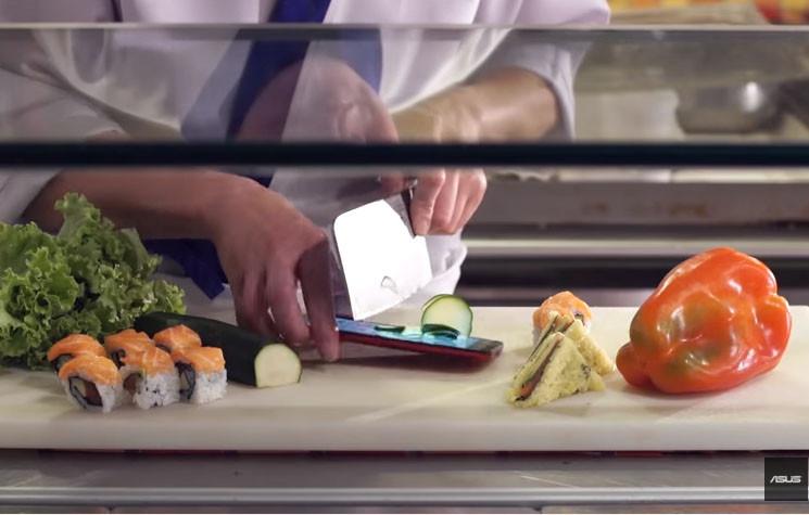 Asus ZenFone 2 Laser ve ZenFone Selfie suşi testi (Video)
