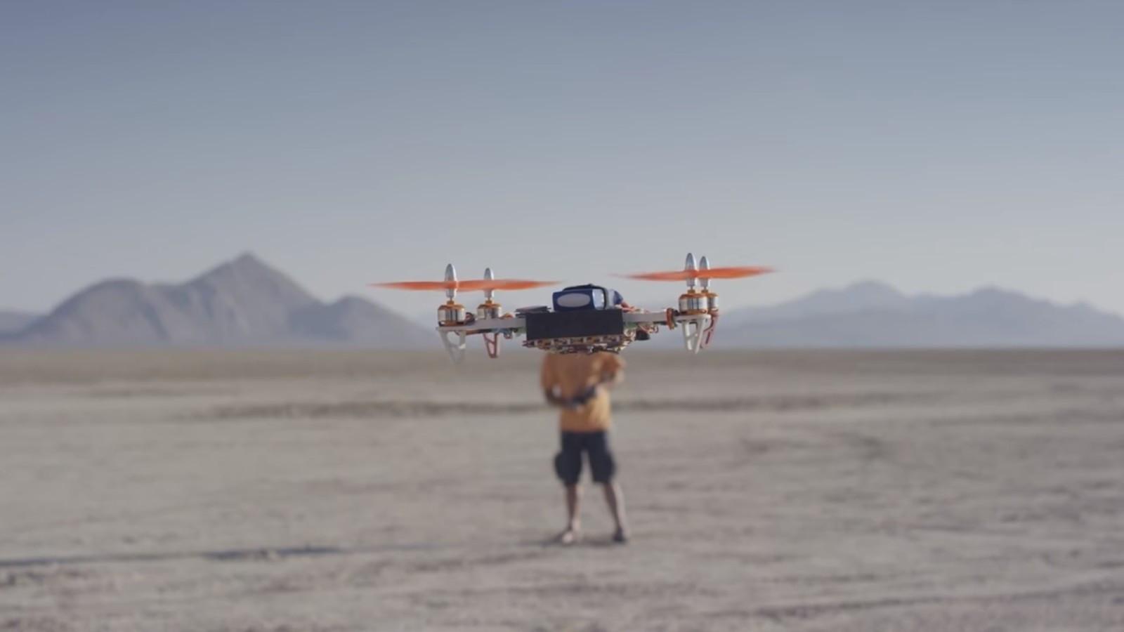 Google Project Blackrock ile Drone'lar Daha Akıllı Olacak