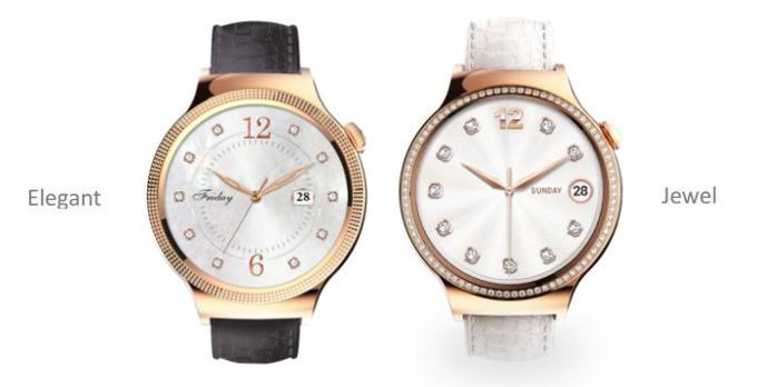 Huawei Watch'ın Elegant ve Jewel sürümleri tanıtıldı