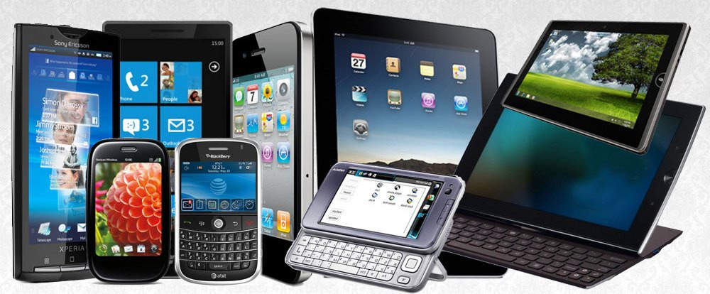 mobile devices variety