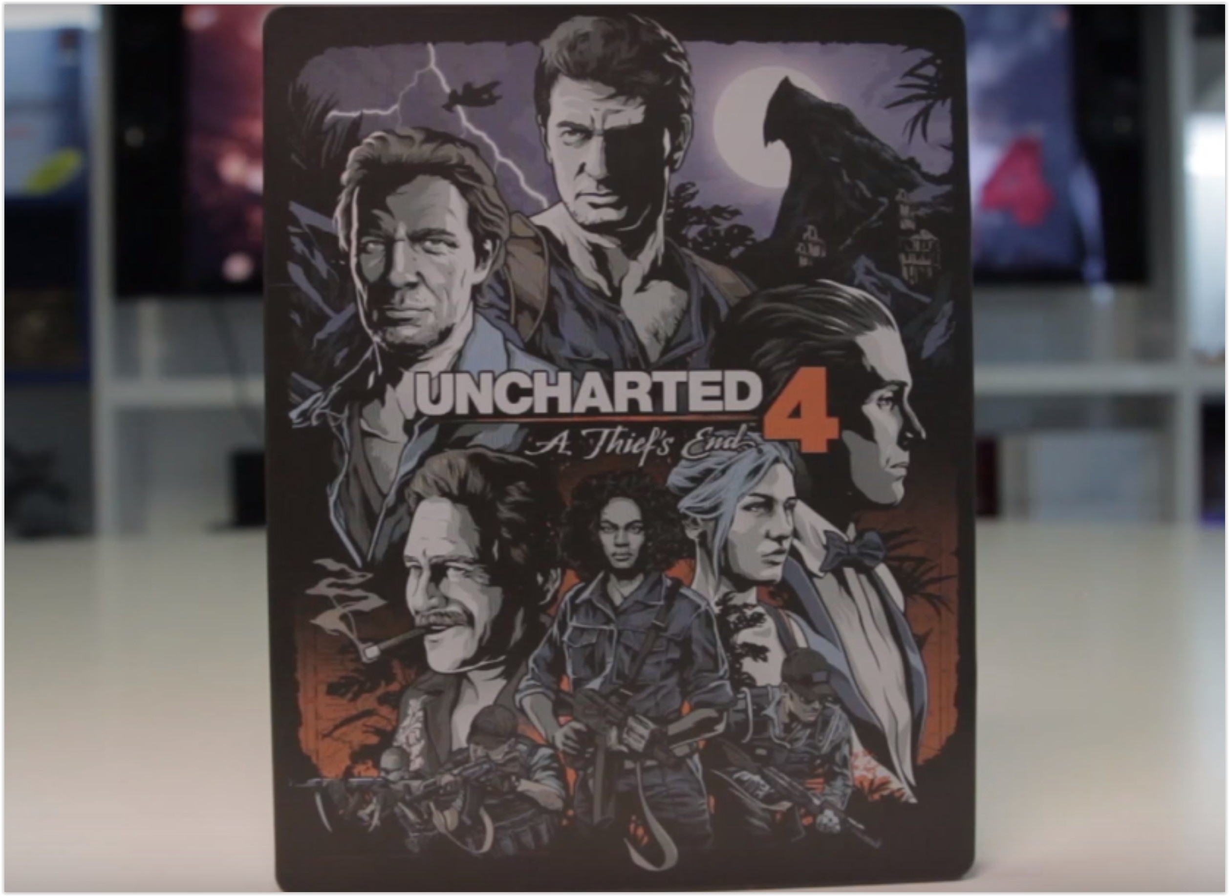 Uncharted 4 Libertalia Collector's Edition disc