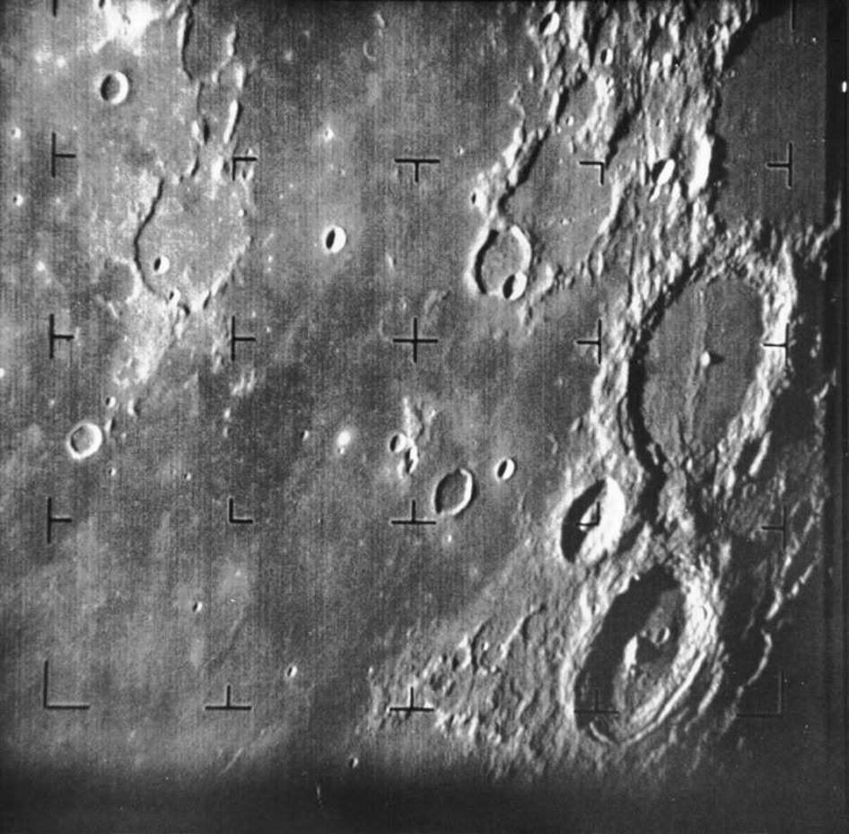 Ay'ın Çekilen İlk Detaylı Fotoğrafı