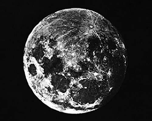 Tarihte Ay'ın çekilmiş bilinen ilk fotoğrafı