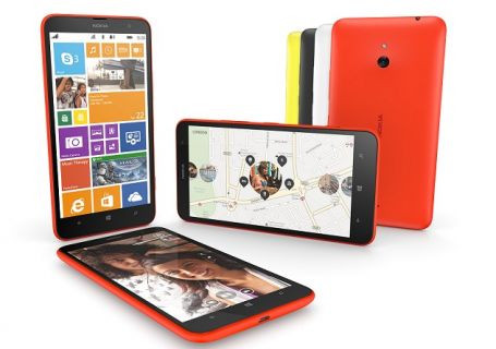 Nokia'dan ikinci phablet geldi: İşte Lumia 1320