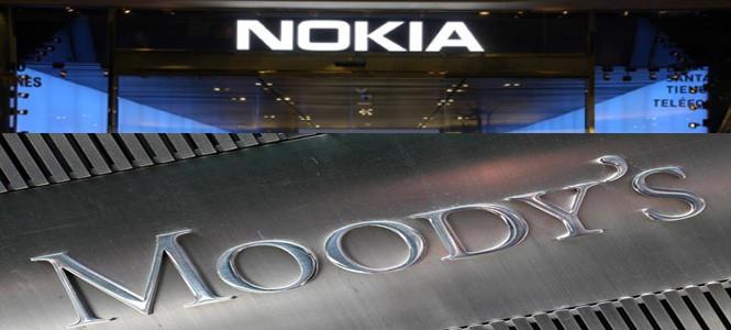 Nokia'nın kredi notu düşürüldü