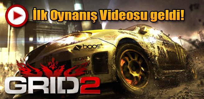 'EuroGamer Expo 2012' Grid 2 oynanış videosu!