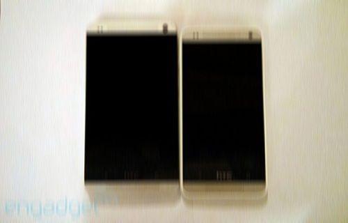 HTC One ve One Mini yan yana görüntülendi