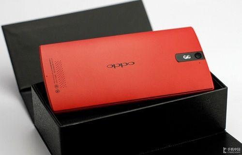 Oppo Find 5'in kırmızı rengi ortaya çıktı