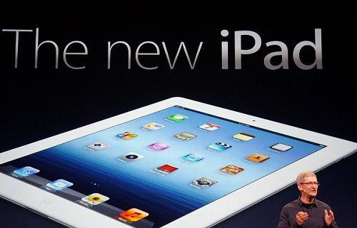 Yeni iPad'den yeni görüntü!