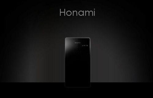 Sony'nin süper telefonu Honami göründü mü?