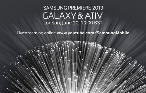 Samsung Premiere 2013 etkinliğini canlı izleyin
