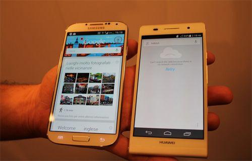 Galaxy S4 dünyanın en ince telefonunun karşısında!