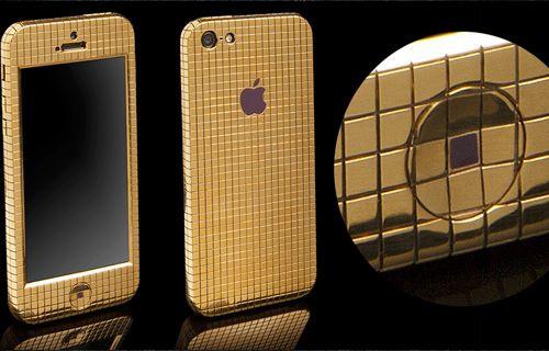 İşte altın renkli iPhone 5S!