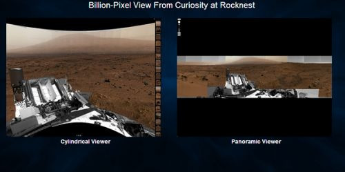 1.3 milyar piksellik Mars fotoğrafı yayınlandı