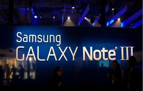 Galaxy Note III olduğu iddia edilen bir görsel ortaya çıktı