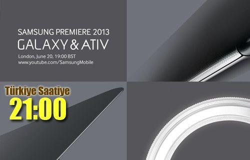 Samsung Premiere 2013 - Canlı Anlatım